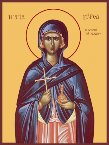 Марфа Вифанская праведная, мироносица