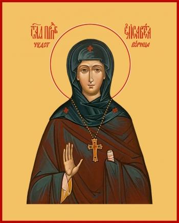 Елисавета чудотворица, игумения Константинопольская преподобная