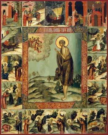 Мария Египетская преподобная, икона