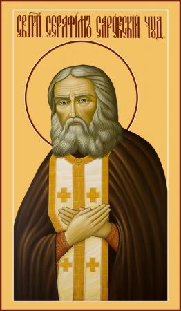 Серафим Саровский преподобный чудотворец