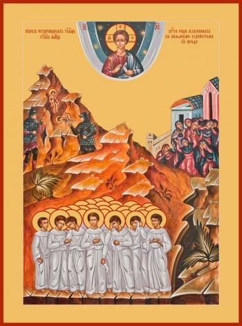 Вифлеемские младенцы мученики, икона (арт.687)