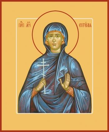 Евгения Римская великомученица, икона