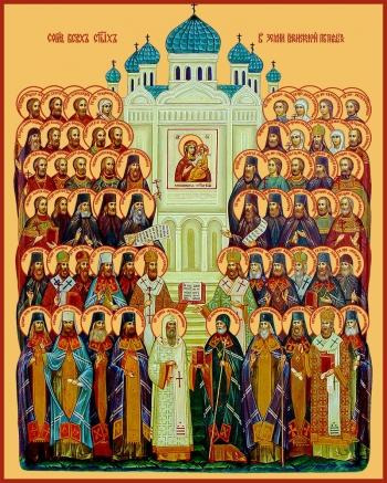 Собор всех святых, в земле Воронежской просиявших