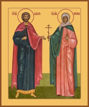 святые Адриан и Наталия мученики