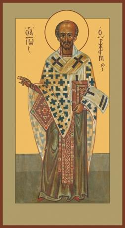 Иоанн Златоуст святитель, икона (арт.737)