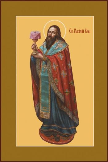 Василий Великий святитель, икона (арт.743)