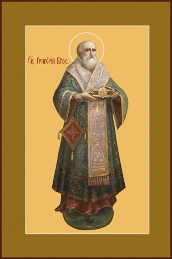 Григорий Богослов святитель, икона (арт.744)
