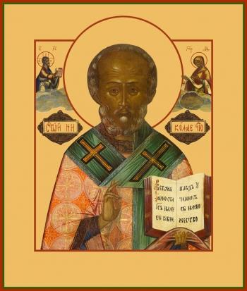 Николай чудотворец, архиепископ Мир Ликийских, святитель, икона (арт.767)