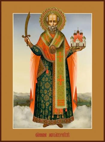Николай чудотворец, архиепископ Мир Ликийских, святитель, икона (арт.774)