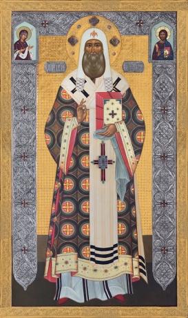 Петр, митрополит Московский, святитель, икона (арт.783)