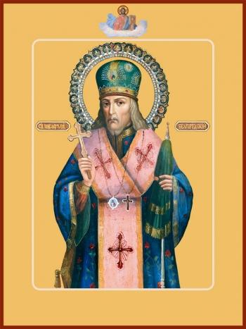 Иоасаф, епископ Белгородский, святитель, икона (арт.785)