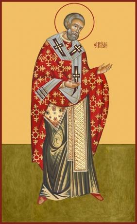 Николай чудотворец, архиепископ Мир Ликийских, святитель, икона (арт.789)
