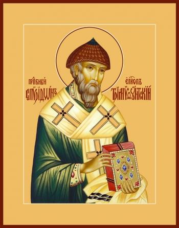 Спиридон Тримифунтский святитель, икона (арт.799)
