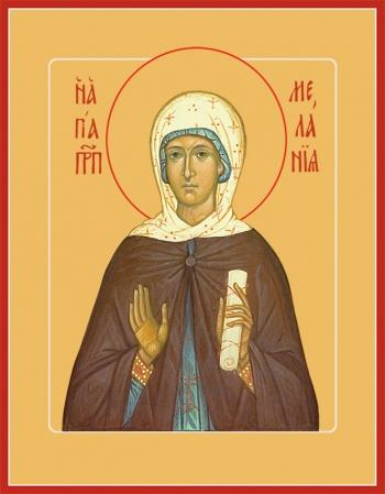 Мелания Римляныня преподобная, икона (арт.851)