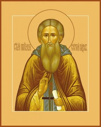 Сергий Радонежский преподобный, икона (арт.875)