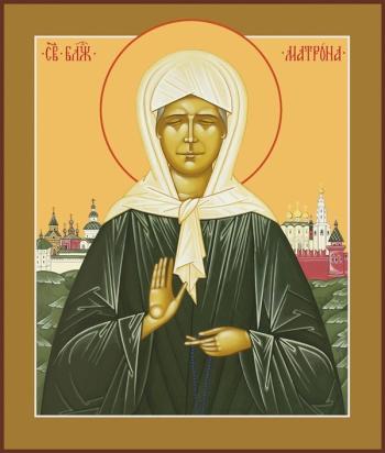 Матрона Московская блаженная, икона (арт.887)