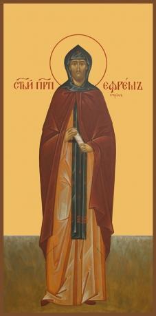 Ефрем Сирин преподобный, икона (арт.889)