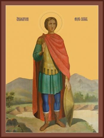 Феодор Стратилат великомученик, икона (арт.906)
