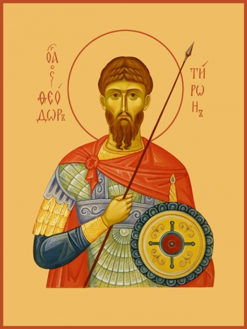 Феодор Тирон великомученик, икона (арт.912)