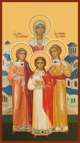 Вера, Надежда, Любовь и их матерь София мученицы