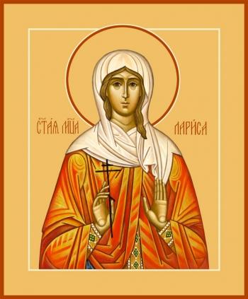 Лариса Готфская мученица, икона (арт.929)