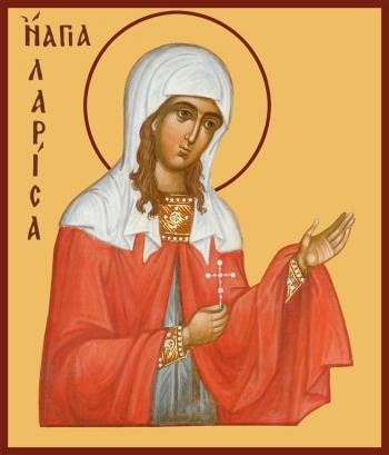 Лариса Готфская мученица, икона (арт.939)