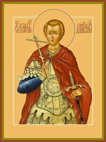 Димитрий Солунский великомученик, икона (арт.950)