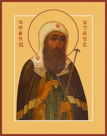 Ермоген, Патриарх Московский и всея Руси, святитель, икона (арт.952)