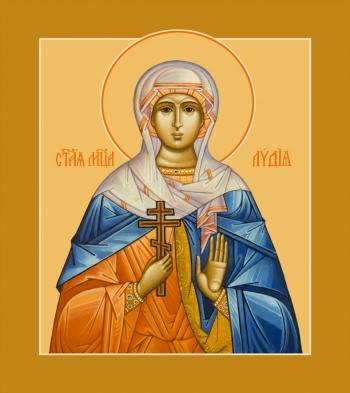 Лидия мученица, икона (арт.953)