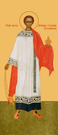 Стефан первомученик, икона (арт.958)