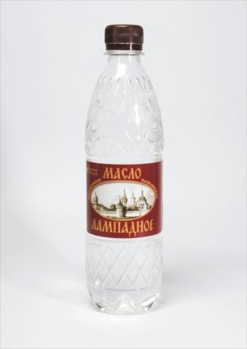 Масло лампадное, бутылка 0,5 л