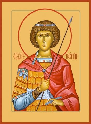 Георгий Победоносец великомученик, икона (арт.972)