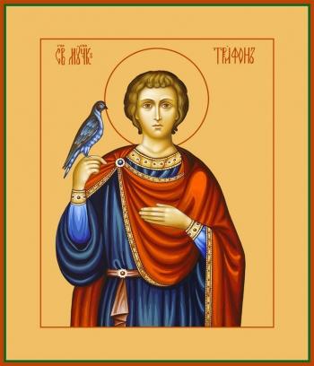 Трифон мученик, икона (арт.979)