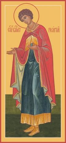 Георгий Победоносец великомученик, икона (арт.980)