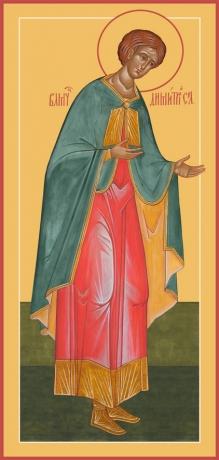 Димитрий Солунский великомученик, икона (арт.982)