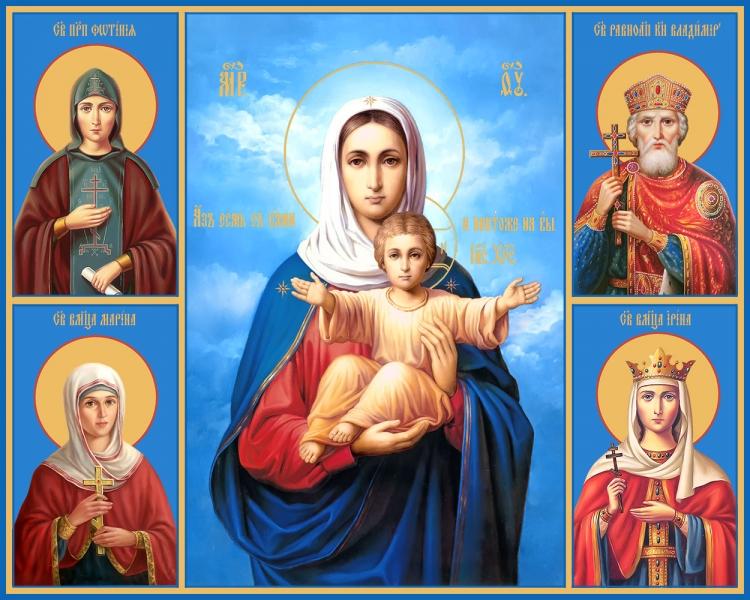 Семейная икона. Изготовление на заказ  (арт. S-058)