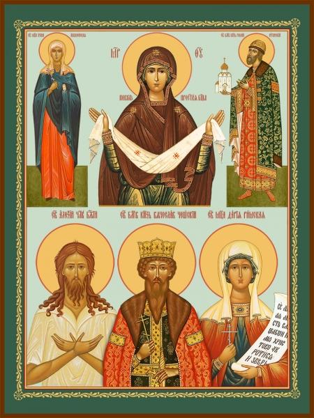 Семейная икона. Изготовление на заказ  (арт. S-060)