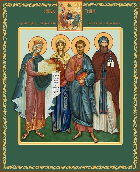 Семейная икона. Изготовление на заказ  (арт. S-013)
