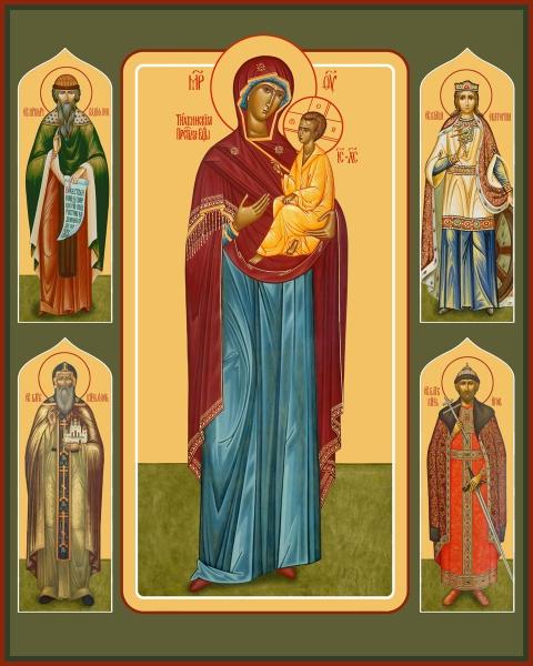 Семейная икона. Изготовление на заказ  (арт. S-022)