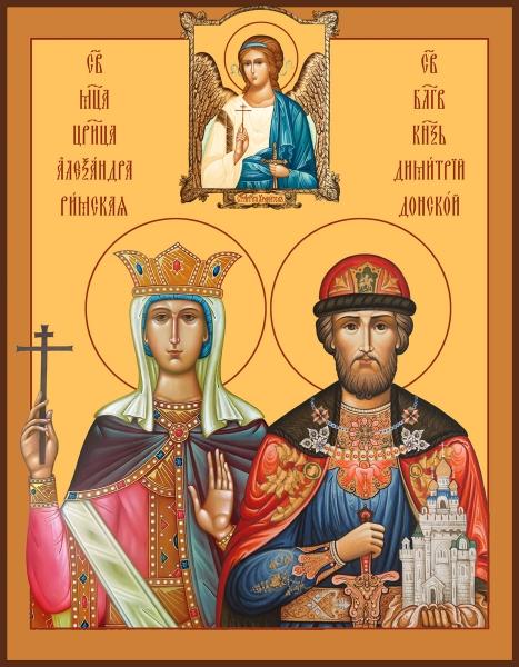 Семейная икона. Изготовление на заказ  (арт. S-024)