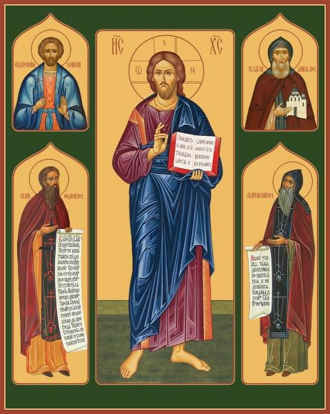 Семейная икона. Изготовление на заказ  (арт. S-037)