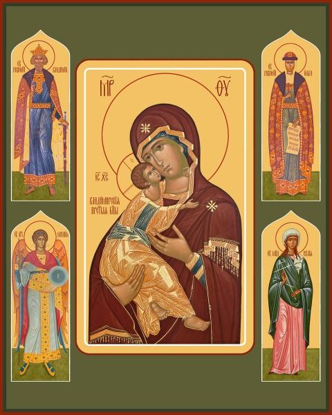 Семейная икона. Изготовление на заказ  (арт. S-044)