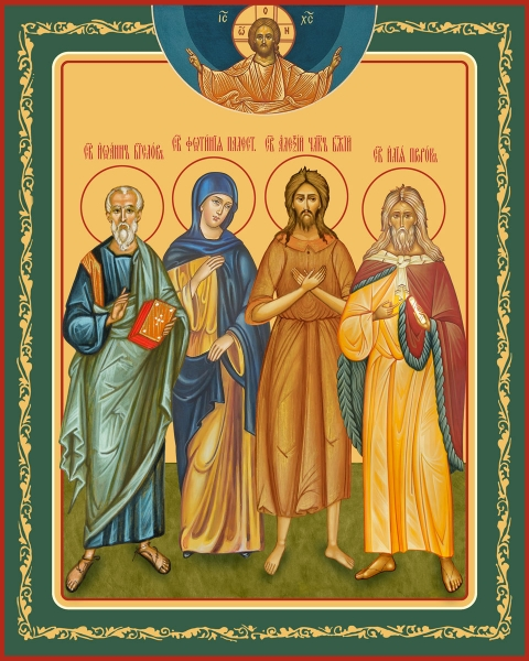 Семейная икона. Изготовление на заказ  (арт. S-048)