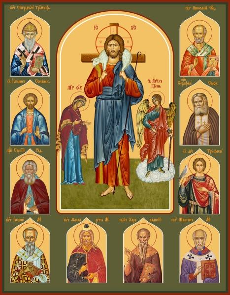 Семейная икона. Изготовление на заказ  (арт. S-051)