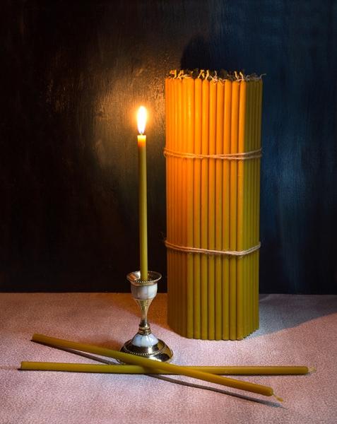 Свечи церковные воск 100% №30