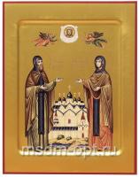 Петр и Феврония благверные кнн., икона. Ковчег