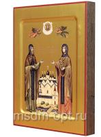Петр и Феврония благверные кнн., икона (арт.458)