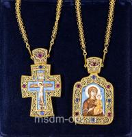 Крест и панагия. Двойник (арт.2611)