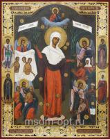 Всех скорбящих Радость икона Божией Матери (арт.02099)