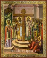 Воздвижение Честного и Животворящего Креста Господня, икона (арт.03058)